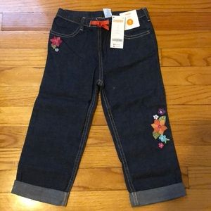 New with tags Gymboree Capri jeans